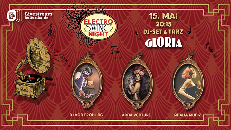 Electro Swing Night Livestream Köln Gloria Theater 15-05-2020