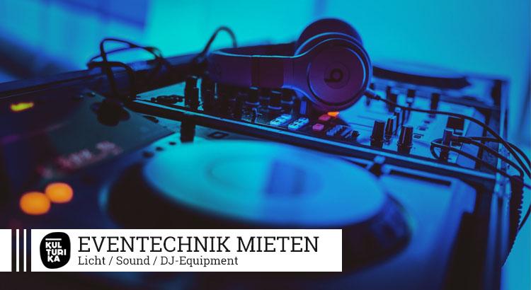 Kulturika Eventtechnik Verleih - Veranstaltungstechnik mieten in Köln
