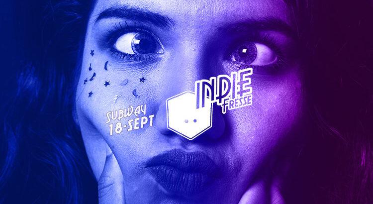 Indie Fresse Party im Club Subway Köln am 18.09.2021