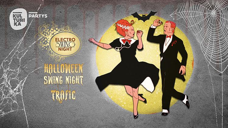 Halloween Swing Night Köln im Club trafic 31-10-2021