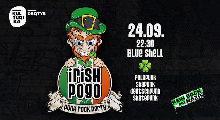 Irish Pogo Punk Rock Party im Blue Shell Köln 24-09-2021