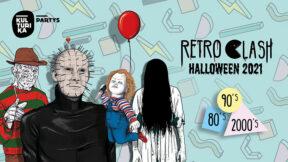 Retro Clash 80er 90er 2000er Halloween Party Köln 31-10-2021 Gloria