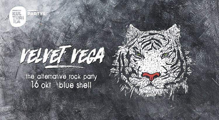 Velvet Vega - Alternative Rock Party Kln im Blue Shell 16.10.2021